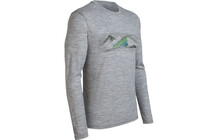Icebreaker Men's LS Tech T Lite NZ Collection Highland metro